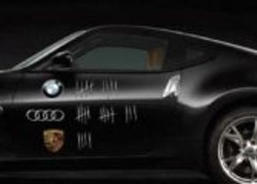 Porsche lacht niet met Nissan-reclame