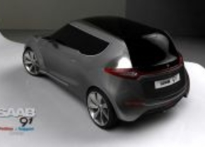 Saab 91 concept over Facebook