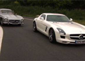 Mercedes sls vs gullwing