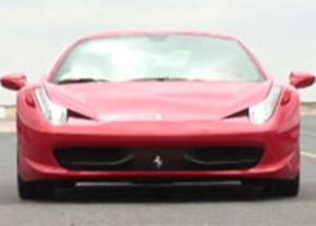Ferrari 458 Italia test