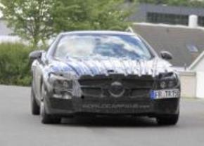 Mercedes SL63 AMG gespot