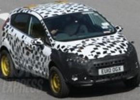Ford bereidt Fiesta 4x4 voor