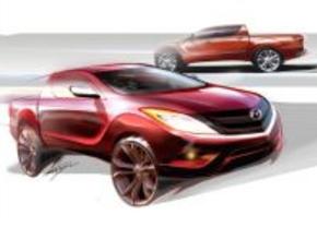 Nieuwe Mazda BT-50 pick up in