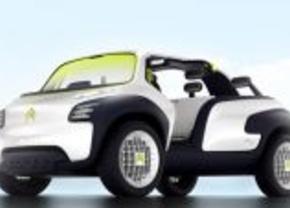 Citroën Lacoste Concept: Fun on the beach