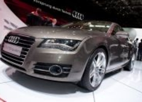 Audi A7 sportback in Parijs 2010