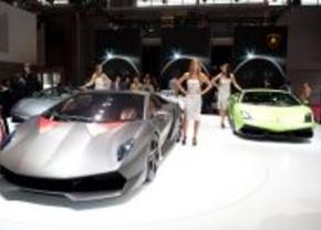 Lamborghini stand 2010 Parijs