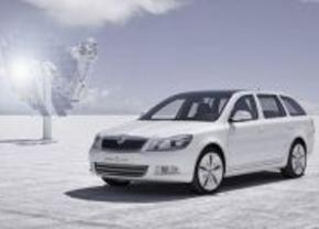 Elektrische Skoda Octavia e-car concept