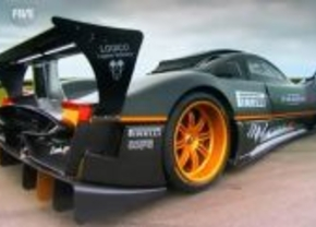 Pagani Zonda R Fifth Gear