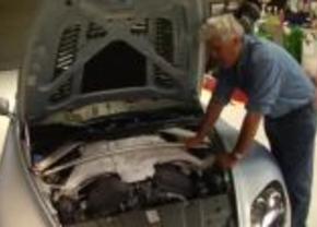 Jay Leno Aston Martin V12 Vantage