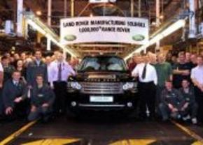 1 miljoen Range Rovers