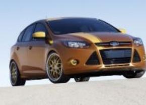Ford verlekkert publiek met aangepaste Focus-modellen