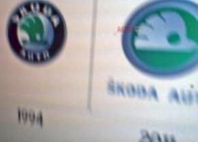Nieuw logo voor Skoda?