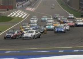 Porsche GT3 Cup race