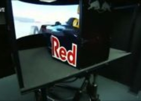 Red Bull driving sim
