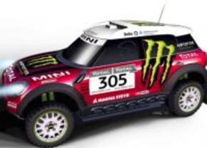 Mini Countryman x-raid Dakar