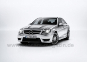 Mercedes C63 AMG gelekt
