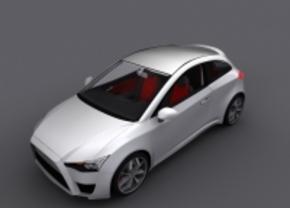 Artist Render: Mitsubishi Concept CS