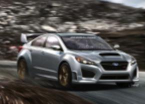 Subaru impreza WRX STI concept rendering