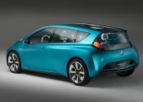 Toyota Prius V en Prius c concept in Detroit