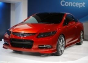 Honda Civic Coupé Detroit 2010