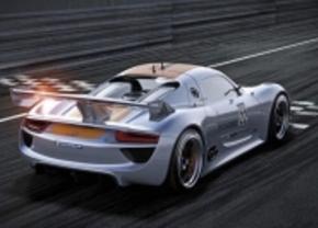 Porsche 918 RSR Racer gaat niet in productie