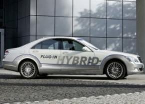 Mercedes hybride C-, E- en S-klasse