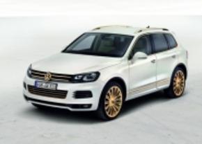 Twee gouden Touaregs voor Qatar Autoshow