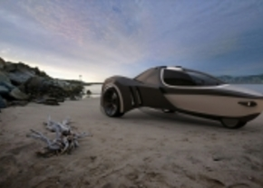 Manta is Belgisch ontwerp voor amfibiewagen