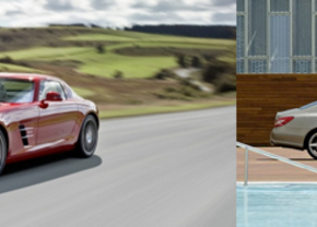 Autofans.be Live met Mercedes CLS en SLS AMG