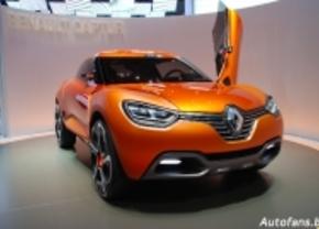 Renault Captur concept in Genève