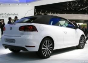 Live in Genève: Volkswagen Golf Cabrio