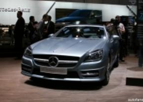 Mercedes SLK live in genève