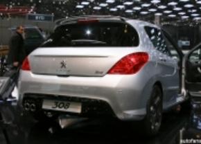 Peugeot 308 live in Genève 2011