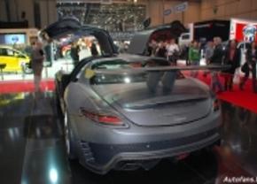 Mercedes SLS AMG door Mansory live in Genève