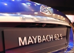 Maybach 62S live in Genève