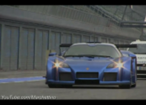 Gumpert Apollo op Monza Circuit