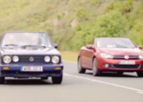 Video: De VW Golf Cabrio op de baan