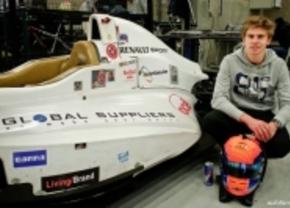 Sam Dejonghe rijdt Formule3