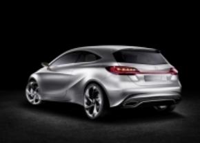 Mercedes toont A klasse concept 2011