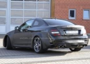 Mercedes C63 AMG Black Series gespot