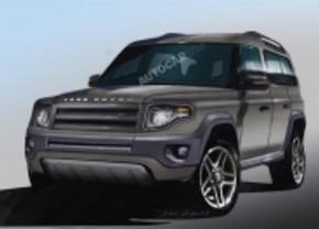 Land Rover Defender komt er in 2015