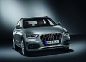 Audi Q3 staat op de Rai