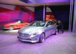 Mercedes A klasse concept fail