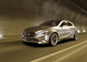 Mercedes 1 klasse AMG in de maak?