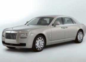 Kleine Rolls groeit: Rolls Royce Ghost LWB