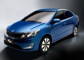 Kia K2 als Rio sedan voor Chinese markt