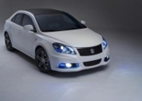 Suzuki neemt Kizashi EcoCharge Hybrid concept mee naar New York