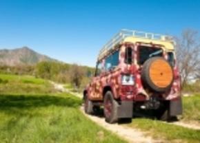 Wijnbladenlook op je Land Rover Defender