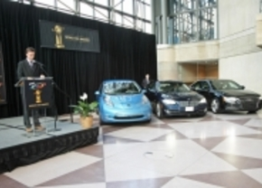 Nissan LEAF is nu ook World Car of the Year