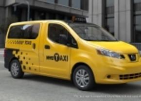 Nissan NV200 wordt nieuwe taxi voor New York